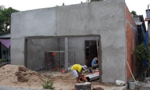 Hộ nghèo được vay 25 triệu đồng/hộ để xây, sửa nhà