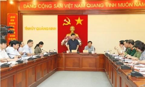 Bộ Xây dựng hỗ trợ tỉnh Quảng Ninh 2000 tấn xi măng để khắc phục thiệt hại do mưa lũ