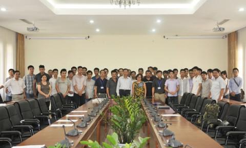 Trường Đại học Kiến trúc Hà Nội bàn giao 30 Tân Kỹ sư, Cử nhân tham gia lớp đào tạo sĩ quan dự bị năm 2015