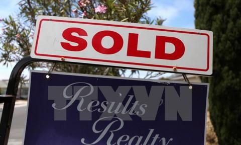 Mỹ: Doanh số bán nhà đất giảm xuống mức thấp nhất trong 4 tháng