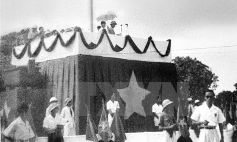 Những điều ít người biết về kỳ đài Tuyên ngôn Độc lập 1945