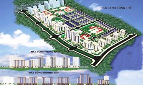 Điều chỉnh tổng thể quy hoạch chi tiết KĐTM Thịnh Liệt