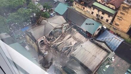 Hà Nội bố trí 40 căn hộ tạm cư cho người dân bị sập nhà