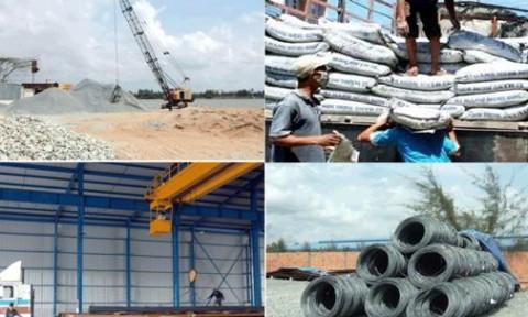 Xi măng, sắt thép tăng trưởng ấn tượng trong tháng 8