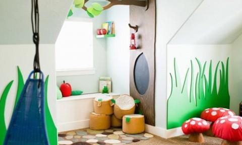 Các căn phòng khiến trẻ thích mê
