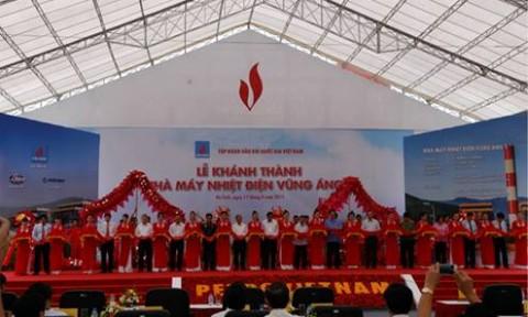Thủ tướng cắt băng khánh thành Nhà máy Nhiệt điện Vũng Áng 1