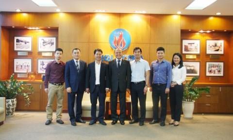 Kazakhstan quan tâm các sản phẩm thương hiệu Viglacera