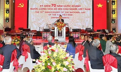 Các nước gửi Điện mừng nhân dịp kỷ niệm 70 năm Quốc khánh
