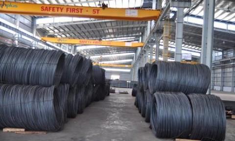 8 tháng: Lượng sắt thép nhập khẩu tăng 41,1%