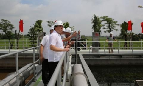 Bắc Ninh: Khánh thành Nhà máy xử lý nước thải Từ Sơn