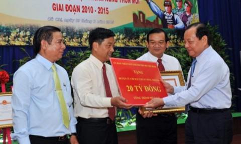 """Công nhận """"Huyện nông thôn mới"""" đầu tiên của thành phố Hồ Chí Minh"""
