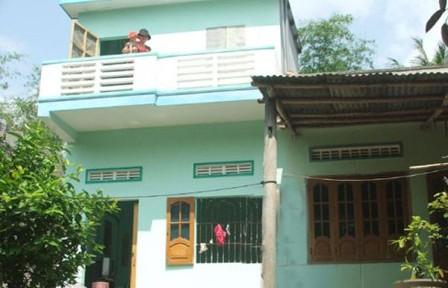 Hoàn thành gần 4.500 căn nhà phòng tránh bão lụt
