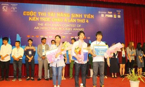 """Việt Nam lọt top cuộc thi """"Tài năng sinh viên kiến trúc châu Á"""""""