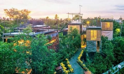 Khách sạn sinh thái mang nhiều tính năng bền vững