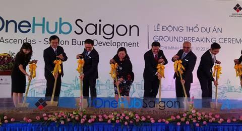 Hơn 2.800 tỷ đồng xây dựng khu phức hợp OneHub Saigon
