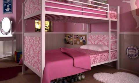Ý tưởng thiết kế phòng ngủ xinh xắn cho các cặp sinh đôi