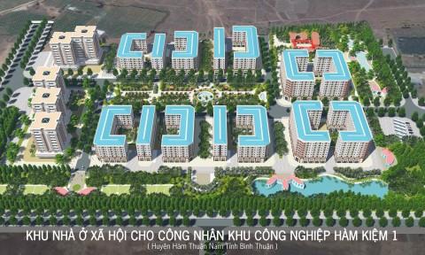 2.000 tỷ đồng xây dựng nhà ở xã hội HQC Hàm Kiệm