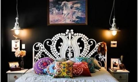 Trang trí tường cho những phòng ngủ siêu nhỏ