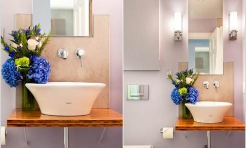 15 ý tưởng thiết kế đẹp cho phòng tắm nhỏ