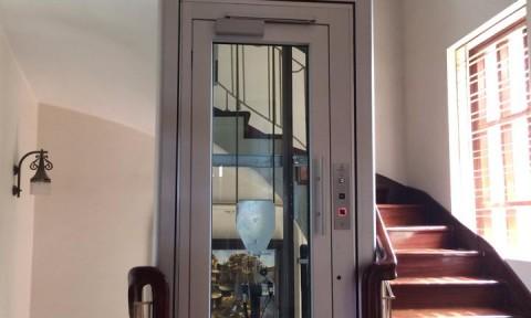 Thang máy gia đình Domuslift -Thiết kế hoàn hảo cho không gian Việt