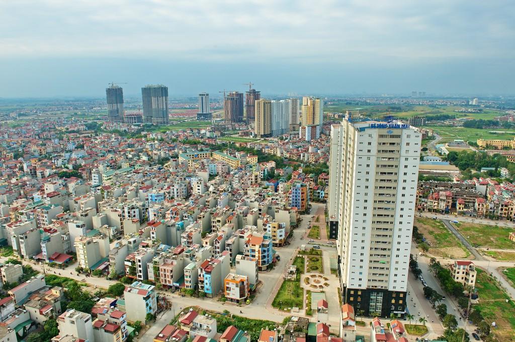 Công trình nhà ở xã hội Bê tông Xuân Mai, Ngô Thì Nhậm, Hà Đông, Hà Nội