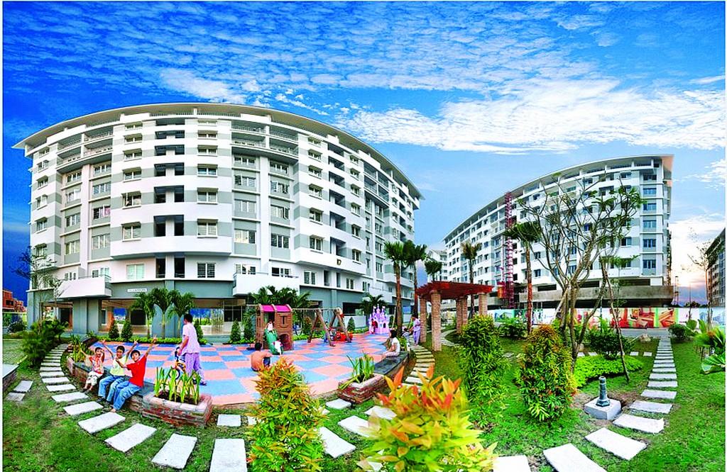 Khu đô thị cho người thu nhập trung bình E - Home Nam Long, TPHCM