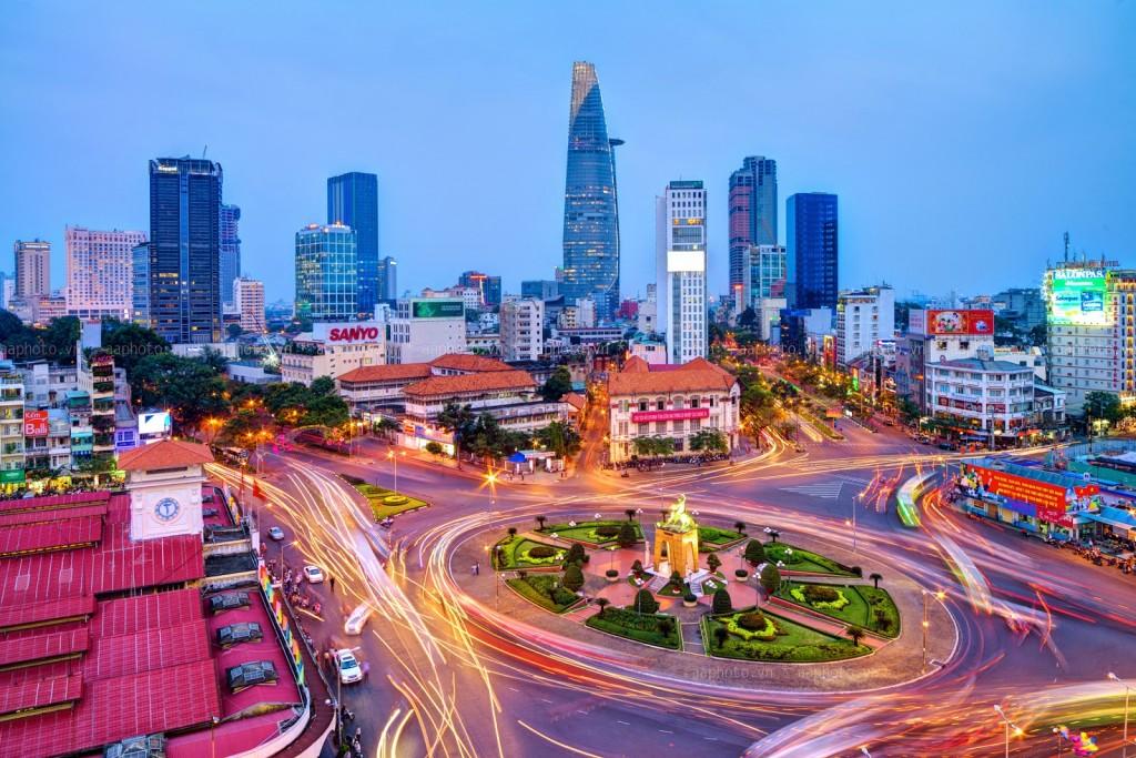 Khu trung tâm cao tầng Q1, Tp. Hồ Chí Minh