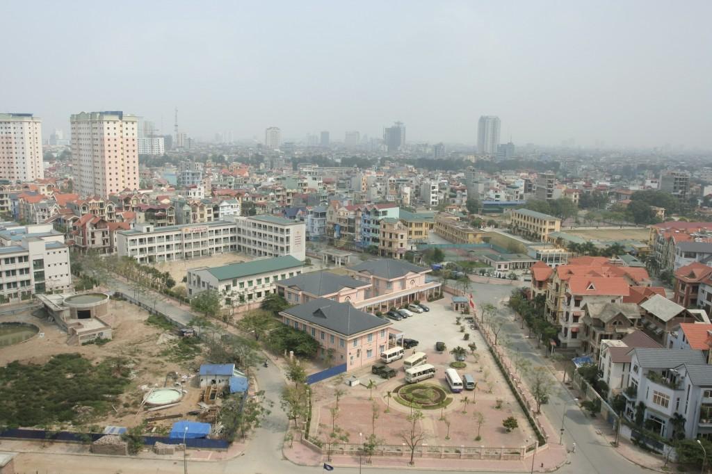 Trường học xây dựng trong khu đô thị mới tp Hà Nội