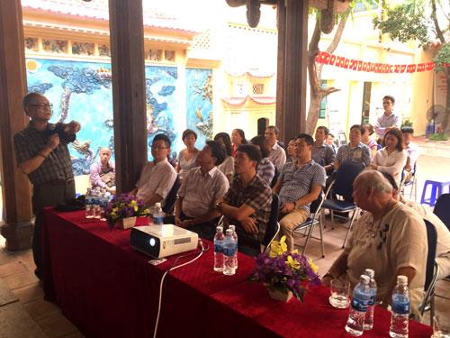 GS.KTS Hoàng Đạo Kính phát biểu tại buổi tọa đàm