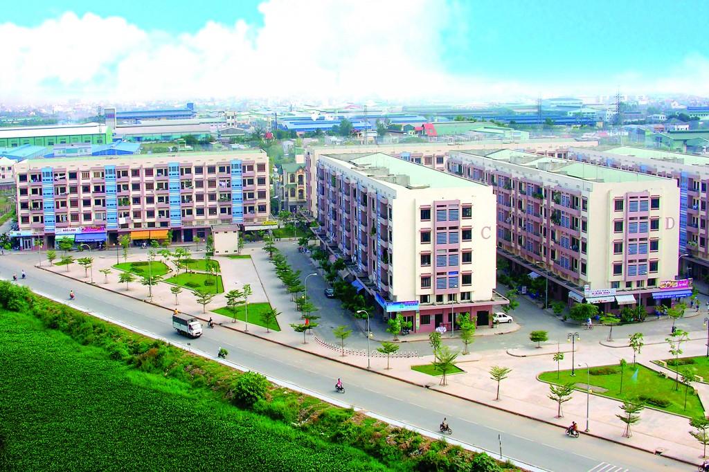 Nhà ở công nhân Khu công nghiệp Tân Bình, TP.HCM