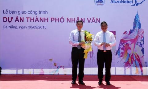 """AkzoNobel:   Tiếp nối chuỗi công trình """"Thành Phố Nhân Văn"""" tại Đà Nẵng"""