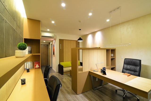 Office-tel mẫu tại Văn phòng giao dịch Novaland, 36 – 38 Nguyễn Văn Trỗi, Q.Phú Nhuận, TP.HCM