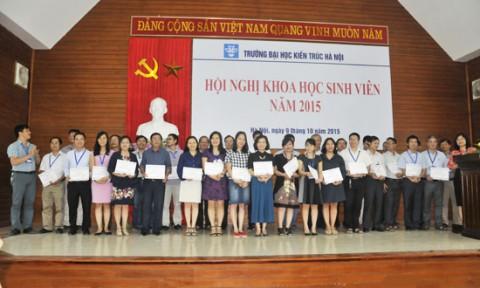 Hội nghị Sinh viên nghiên cứu khoa học 2015