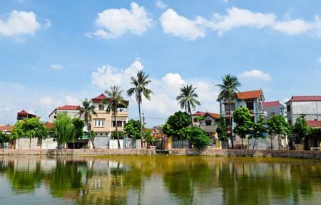 Đan Phượng, huyện đầu tiên của thành phố Hà Nội đạt chuẩn nông thôn mới