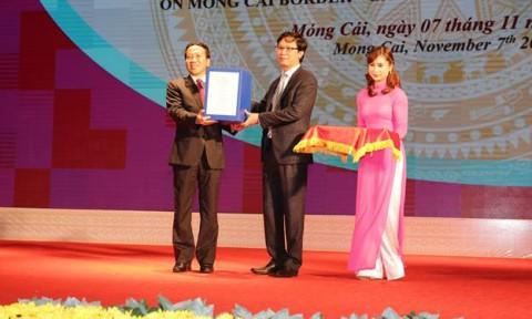 Công bố Quy hoạch chung xây dựng Khu kinh tế cửa khẩu Móng Cái đến năm 2030