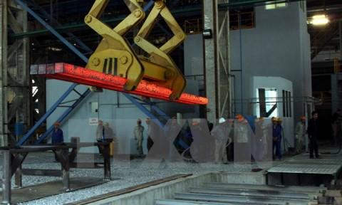Sản xuất thép xây dựng đạt sản lượng cao nhất từ trước đến nay