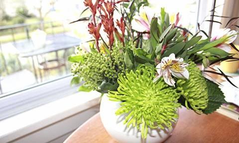 Cách dùng hoa tươi hút tài vận vào nhà