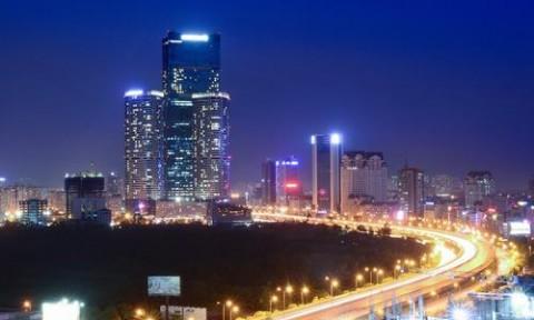 Hà Nội hiện đại nhìn từ trên cao