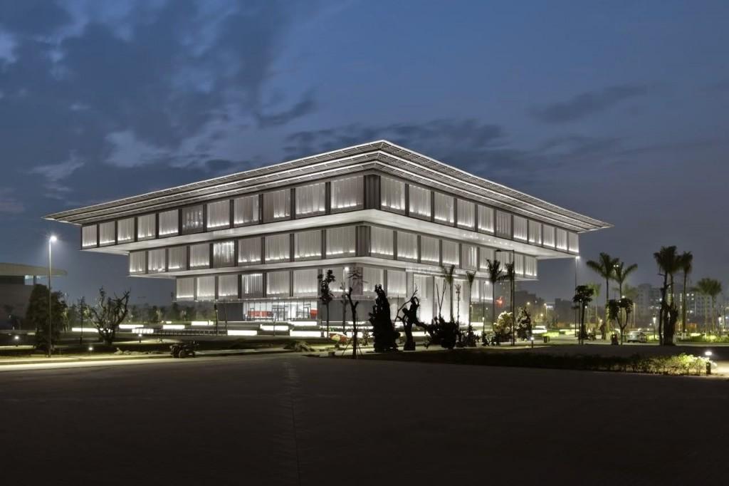 Công trình Bảo tàng Hà Nội.
