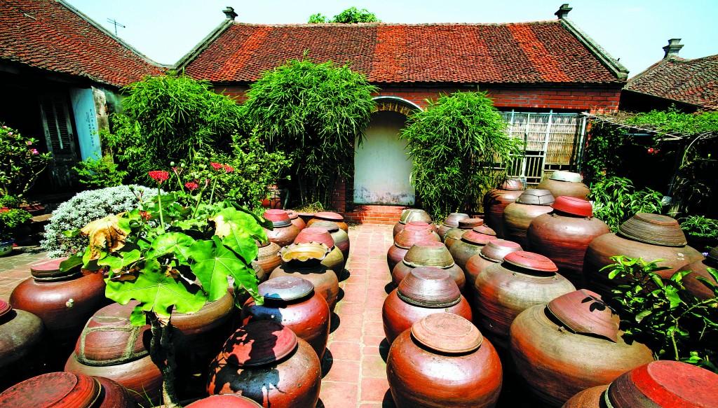 Kiến trúc không gian nhà cổ Đường Lâm, Tp. Hà Nội