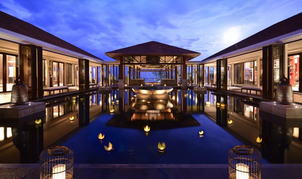 Kiến trúc khu Resort Banyan Tree - Lăng Cô, Huế