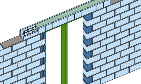 Gạch chữ U – Giải pháp mới dành cho tường xây bền vững
