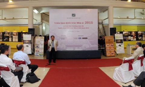 Lễ trao giải cuộc thi Tuyển chọn Kiến trúc nhà ở 2015