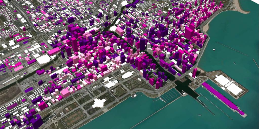 Mô hình quản lý dân số bằng công cụ GIS thành phố Chicago, Hoa Kỳ
