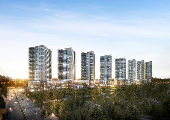 The Sun Avenue nằm ngay mặt tiền Mai Chí Thọ, Q.2, TP.HCM