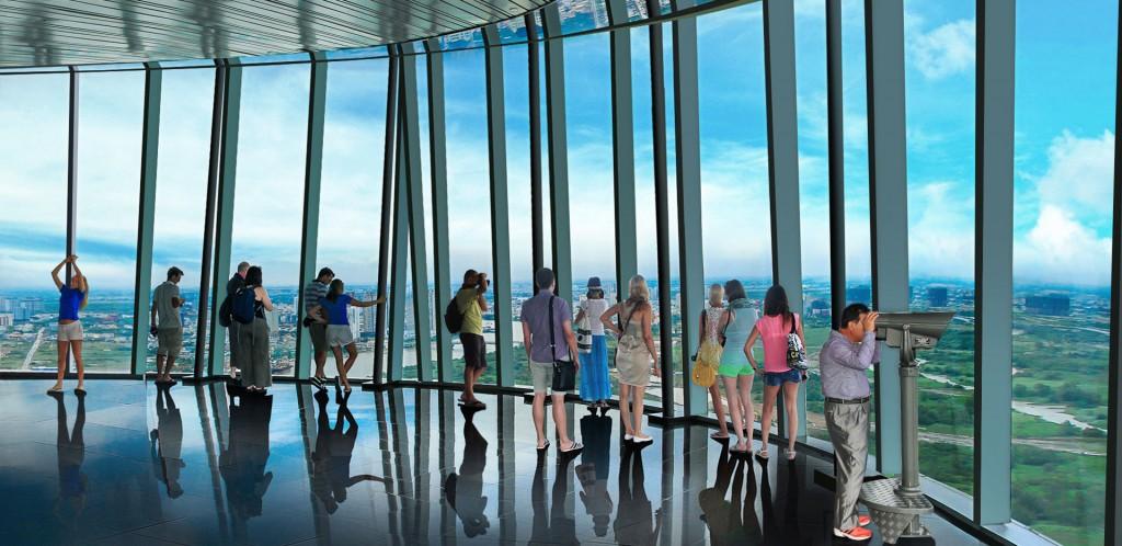 Không gian nhà kính Panorama tòa nhà Bitexco Financial Tower, TP HCM