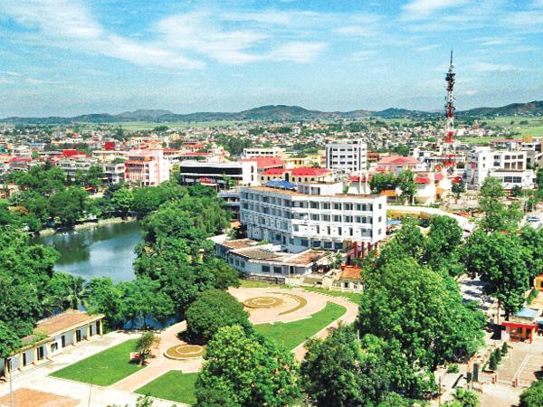 Một góc TP Bắc Giang - Ảnh: Internet