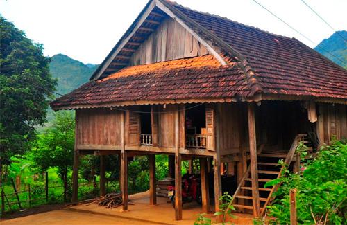 Kiến trúc nhà sàn truyền thống dân tộc Thái