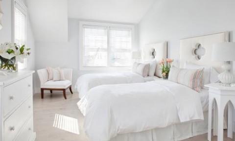Những mẫu ghế trắng trang nhã cho phòng ngủ