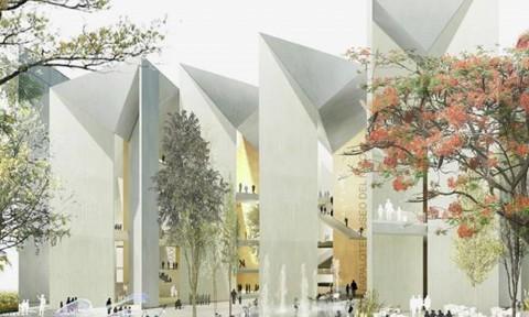 Thiết kế lạ mắt cho bảo tàng trẻ em tại Mexico